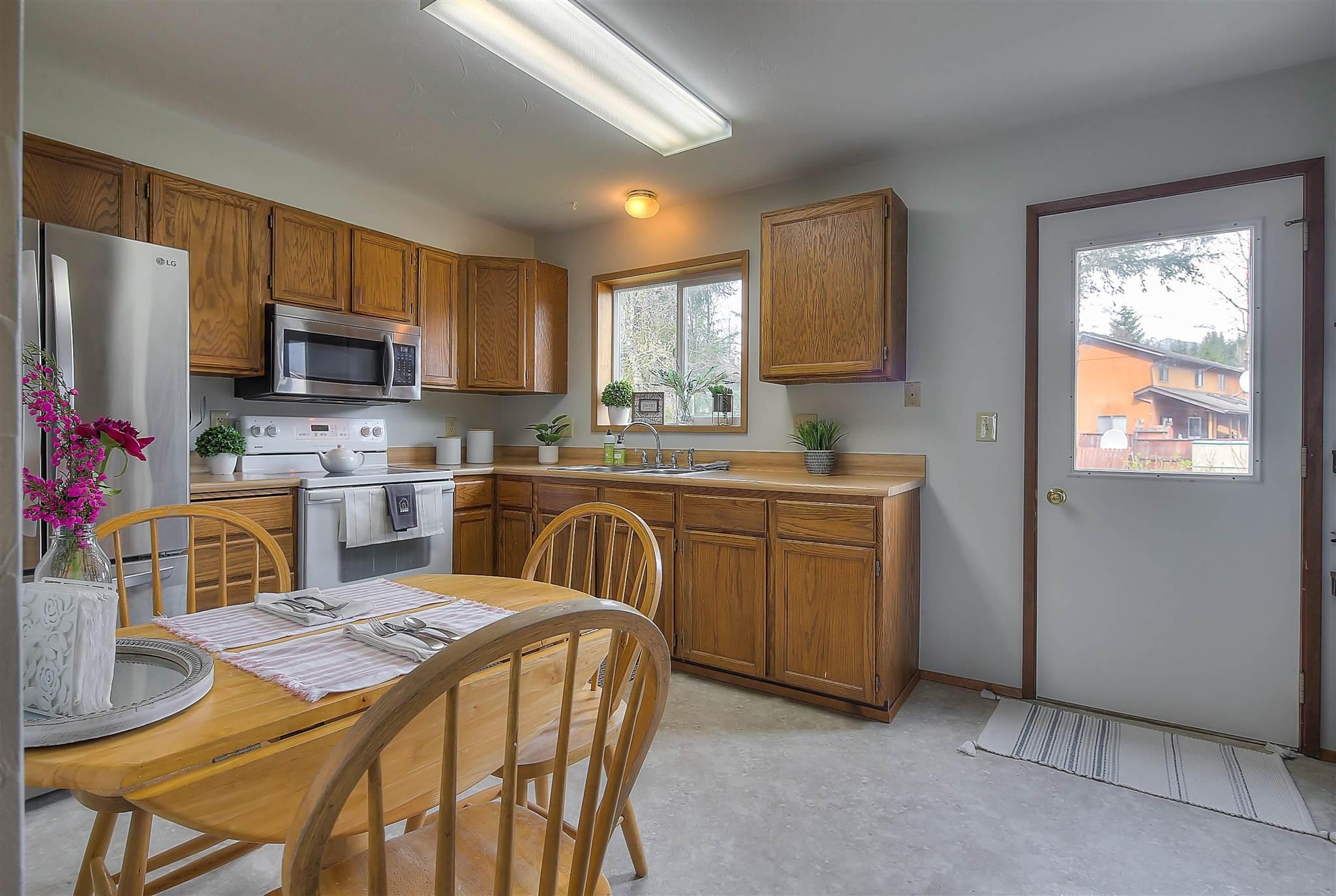 Kitchen Door to Backyard